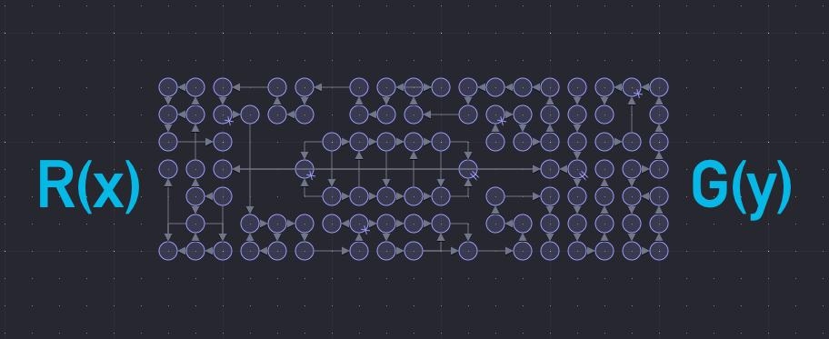 Nodal generative music network