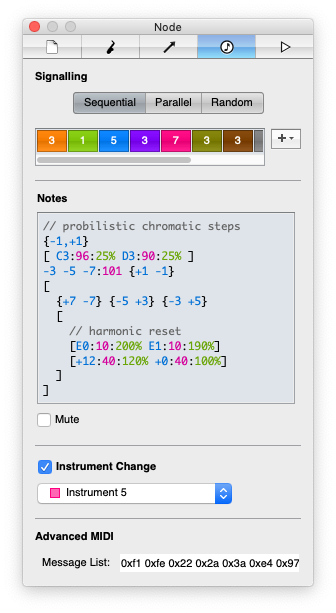 Screenshot showing the Nodal Node editor.